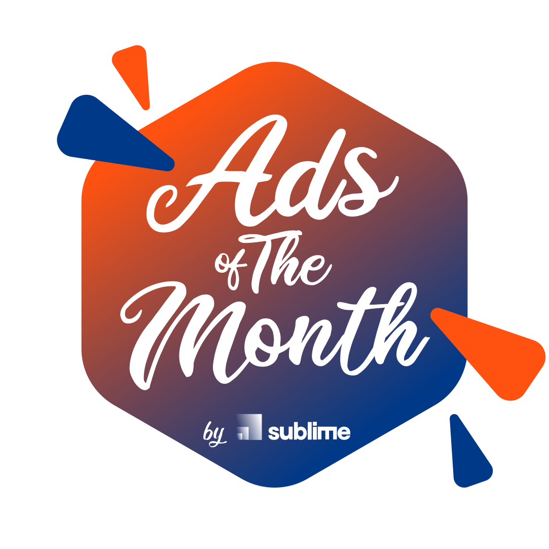 Ads of the month badge
